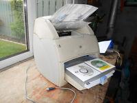 *Low Page Count 33K HP LaserJet 1220 1200 Workgroup LASER PRINTER COPIER ADF SCANNER & 2 toner carts