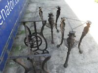 Cast Iron table bottoms