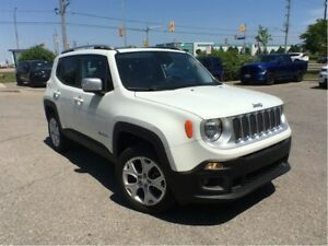 2017 Jeep Renegade LIMITED 4X4**MY SKY SUN ROOF**NAVIGATION**