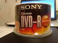 Unopened SONY Accucore DVD-R (4.7GB) x 50 pack