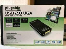 Plugable USB 2.0 UGA Display Adapter
