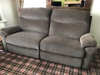 Lay-Z-Boy Tamla Power Recliners 2 and 3 seaters. Perfect condition.