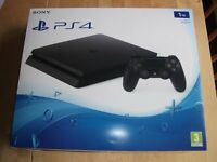 SONY PLAYSTATION 4 PS4 1TB CONSOLE, Boxed, only 4 months old.