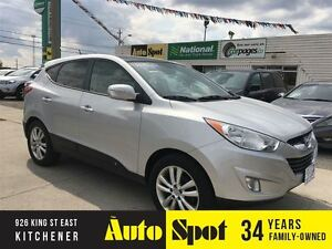 2011 Hyundai Tucson Limited/WE FINANCE/PANORAMIC ROOF/LEATHER IN