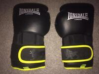 Lonsdale X-lite 16oz boxing gloves