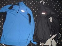 x2 XL size Gore weather proof running tops (new)