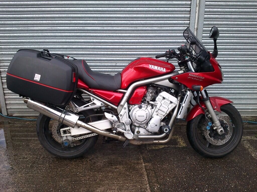 2002 yamaha fzs 1000 fazer with luggage and extras ready. Black Bedroom Furniture Sets. Home Design Ideas