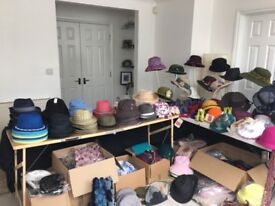 REDUCED Huge joblot of brand new hats, scarves and accessories