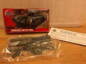 Airfix Churchill tank