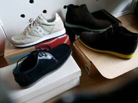 Men's New Shoe Bundle Worth £235/BARGAIN £95!! REDUCED FOR FAST SALE NOW £75 THE LOT!!+ Free Gift