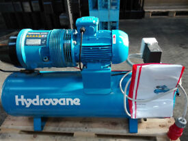 compressor hydrovane hv01 3phase amazing condition silent compressor