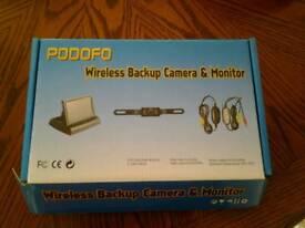 Wireless backup camera & monitor