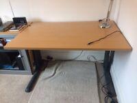 Beech Effect Professional Office Desk