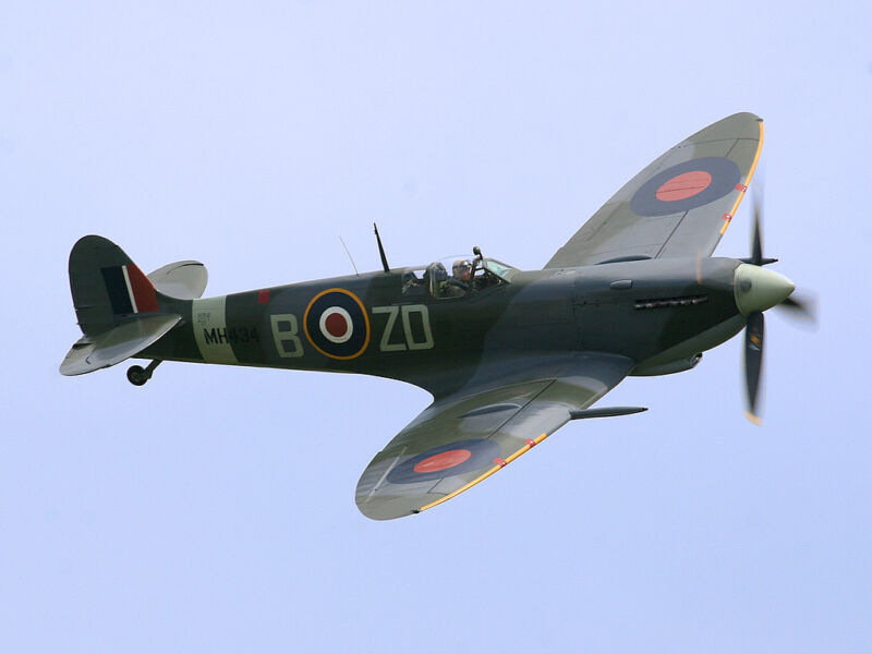Giant 1/4 Scale Spitfire MK-IX Plans and Templates 111ws