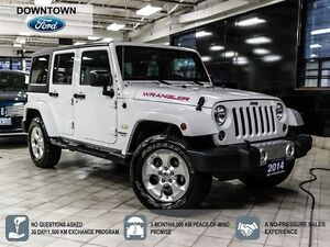 2014 Jeep WRANGLER UNLIMITED Sahara, One Owner trade in, Car Pro