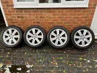 "Audi A4 17"" alloy wheels fit caddy a3 golf etc"