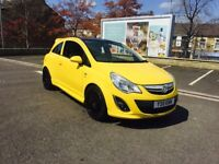 Vauxhall Corsa 1.2 excite vxr limited edition 28k warranted cheap Insurance low mileage warranty px