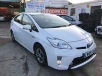 FINANCE £286 PER MONTH, 2015 TOYOTA PRIUS HYBRID T3 CVT AUTOMATIC 45300 MILES SOLD WITH PCO LICENCE