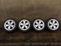 17 inch Audi A3 alloy wheels