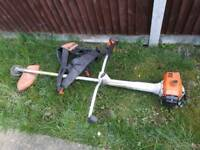 Stihl strimmer and harness