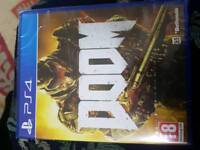 Doom ps4 brand new sealed games