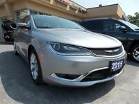 2015 Chrysler 200 C package fully loaded w/ leather and navigati