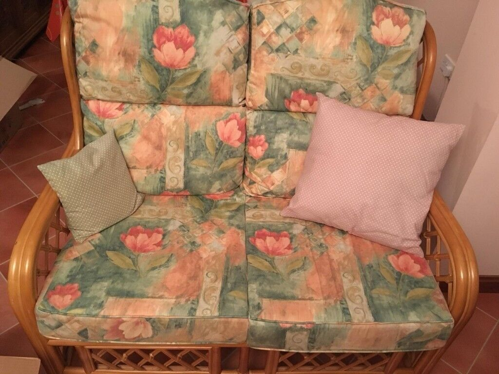 One Sofa Two Chairs Made From Solid Cane Ideal For Sunroom Or Conservatory In Tranent East Lothian Gumtree