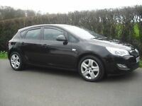 vauxhall astra diesel 1.7 five door only 25431 miles 2010/11 model