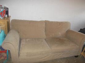 Large Multi York Mink Sofa