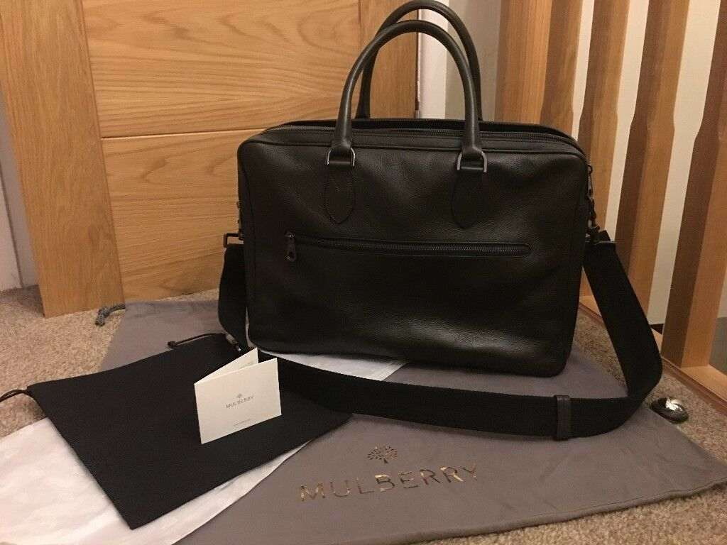 83327d51eeb ... france mulberry heathcliffe mens leather briefcase bag 9ed26 cbb77