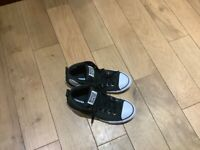 Converse all star shoes £8 size 5