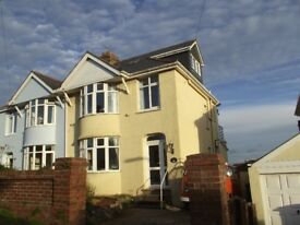 Lovely 4 bedroomed, semi-detached family, home with sea views.