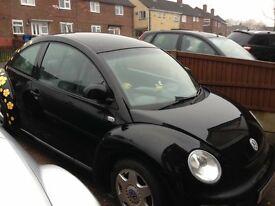 Black 2001 be beetle