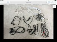 TV DVD Telephone Leads Cables etc. Mixed joblot.