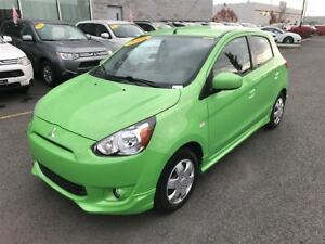 2014 Mitsubishi Mirage SE AC+SIEGES CHAUFFANTS+BLUETOOTH+CRUISE+