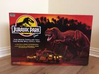 Boxed - 1992 Vintage Retro Jurassic Park Board Game by Parker