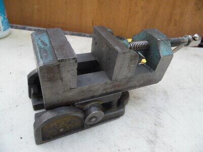 Vtg Industrial Grade Angle Tilt Adjustable Machinist Vise 3 X 3.5 Work Bench