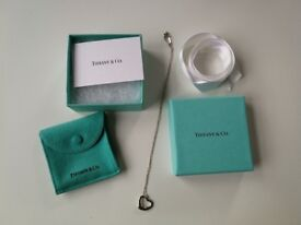 Genuine Tiffany & Co. necklace - new in box