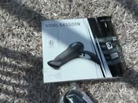 Vidal Sassoon hair dryer brand new in box