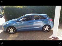 6 speed maunal Hyundai i30. Metallic paint. very good condition