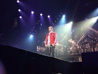 Justin Bieber VIP Tickets – Backstage Tour, Front of Pit, Merch + more MANCHESTER ARENA Sunday 23/10