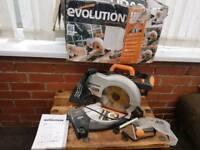 Evolution,RAGE3-B ,meter saw,multicompound saw