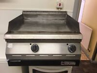 GARLAND-NATURAL GAS TWO BURNER GRIDDLE-HOT PLATE