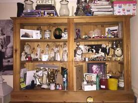 2 solid pine bookcase/unit