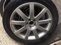 "Genuine Audi Multi Spoke 17"" Alloys Alloy Wheels"