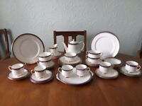 Paragon Porcelain & China Dinner Set - 50 Piece China Dinner Set - Full Set