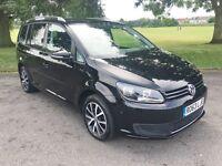 Volkswagen Touran SE TDi Bluemotion Technology (black) 2013