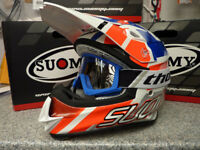 New 2018 Suomy Mr Jump Special Red Blue Helmet Thor Goggles Motocross S M L XL