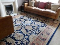 Large, Luxury, Wool (8 x 10 ) Patterned Rug