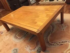Large Teak Swedish Design Coffee Table